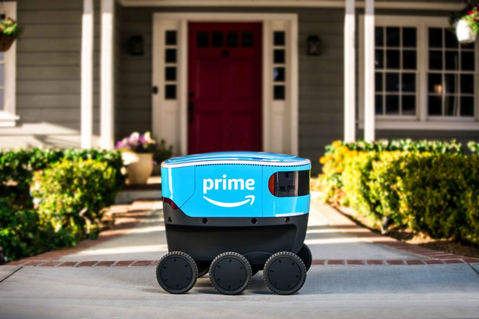 Amazon release scout for autonomous delivery service By Amazon