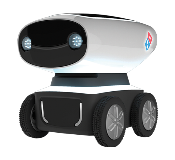 DRU, Domino's Delivery Robot by Domino's
