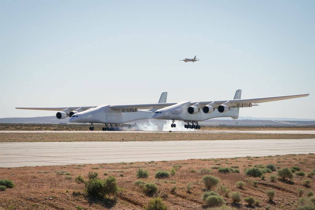 Stratolaunch preparing for take-off