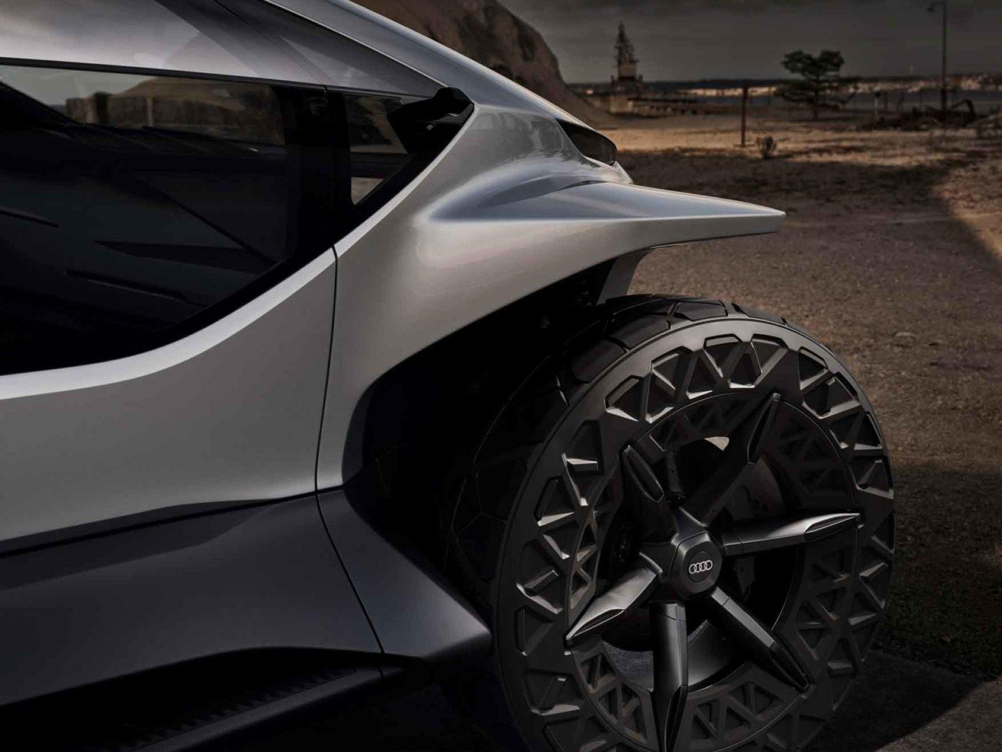 Audi AI: TRAIL Quattro