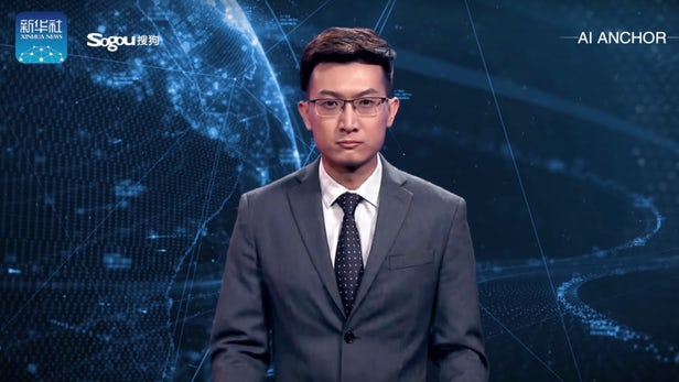 Deepfake on a new level with an AI news anchor – GiGadgets