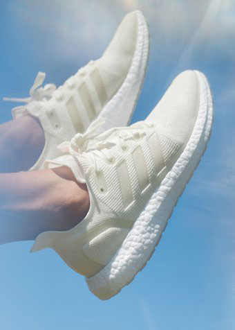 Adidas Futurecraft.Loop utilizes Speedfactory technology to knit the shoe up.  Image via Adidas