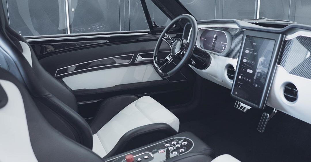 Charge Mustang Interior via Charge