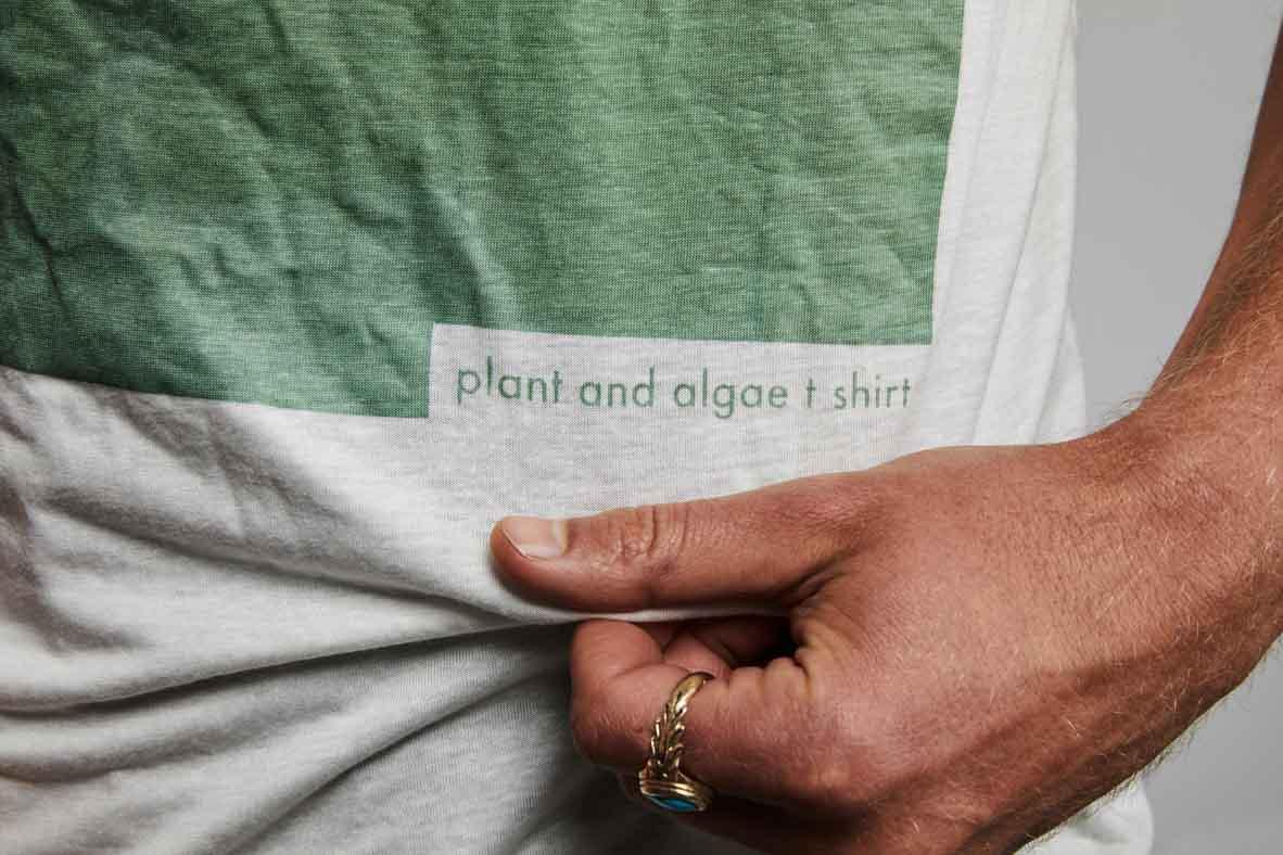 Vollebak's biodegradable T-shirt