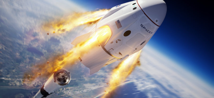 SpaceX Crew Dragon by SpaceX